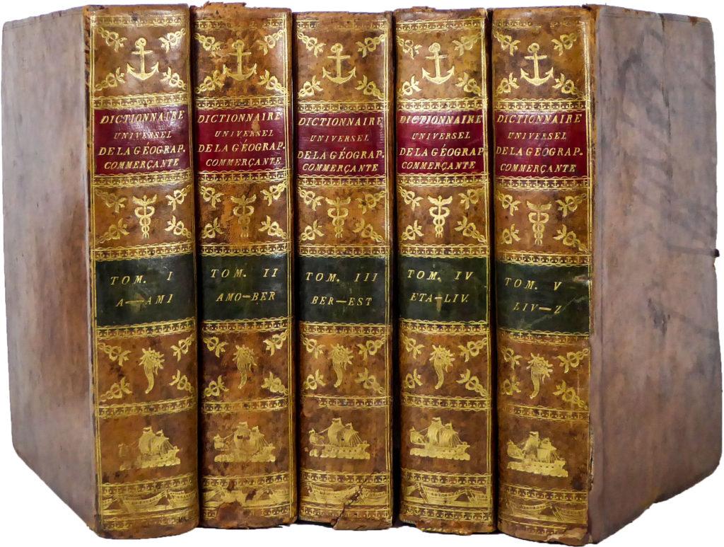 Dictionnaire Universel De La Geographie Commercante Le Dicopathe