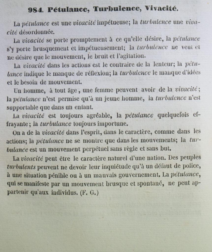 Dictionnaire Universel Des Synonymes De La Langue Francaise Le